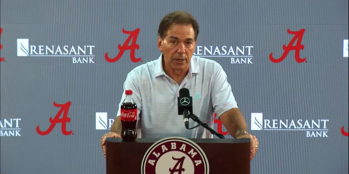 Nick Saban credits plasma treatment for COVID-19 recovery