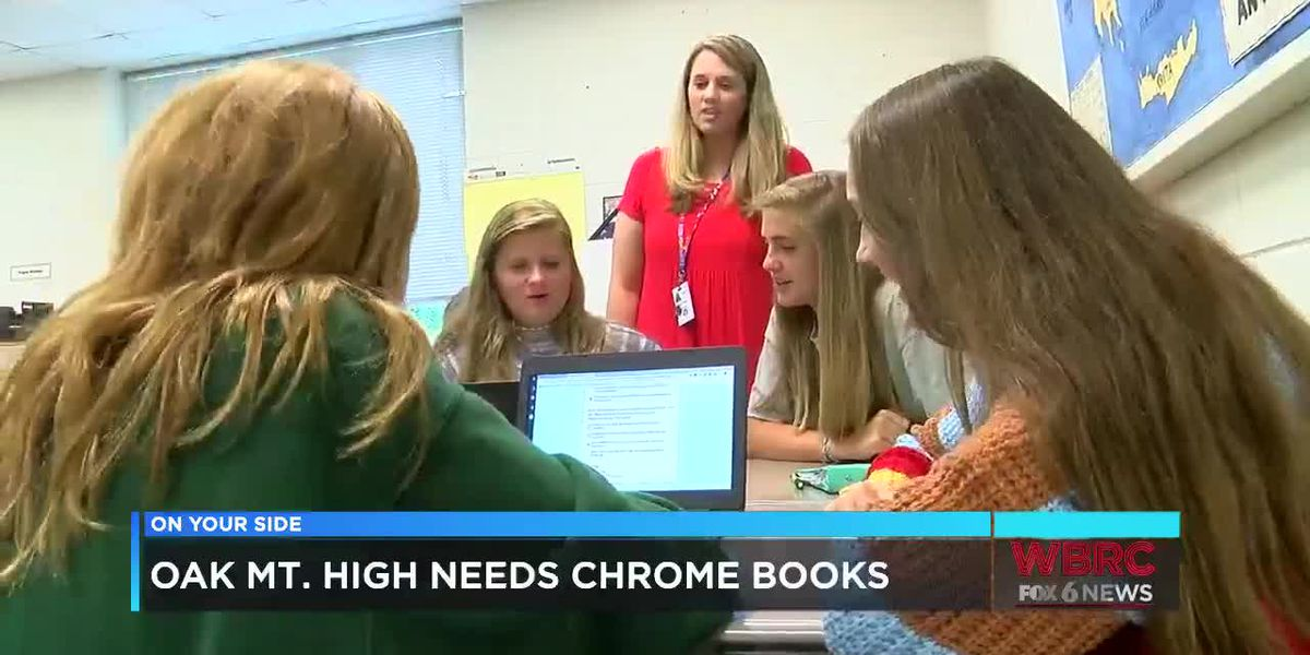 Oak Mountain HS needs Chromebooks