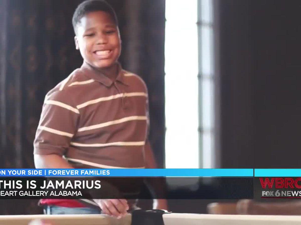 Heart Gallery Alabama: Jamarius