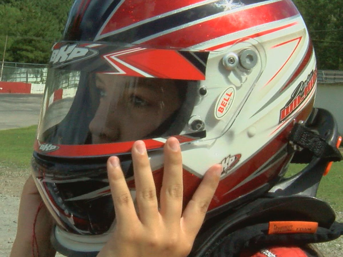 From broken bones to a checkered flag