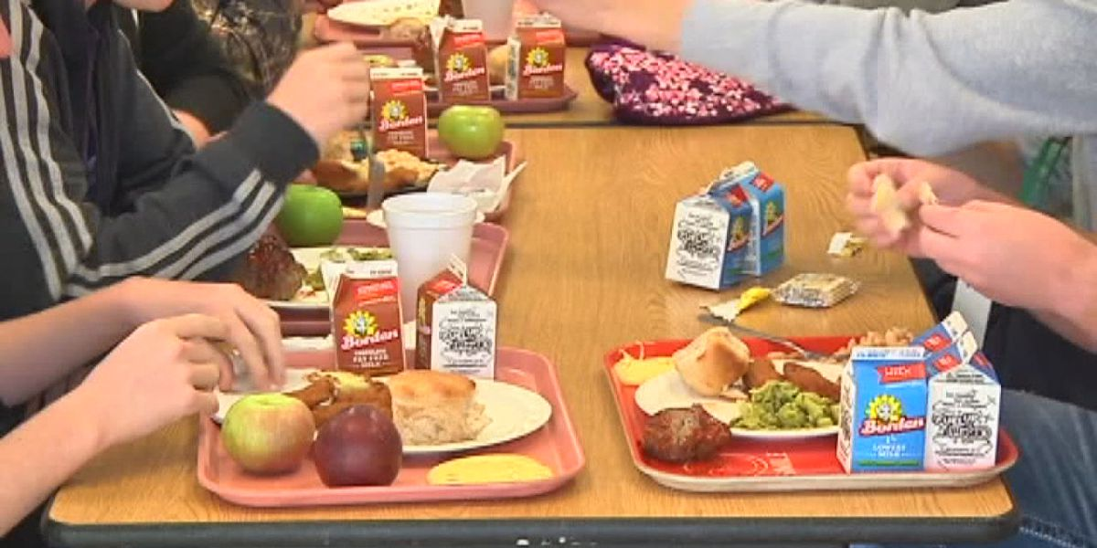 What will school lunchtime look like during a pandemic?