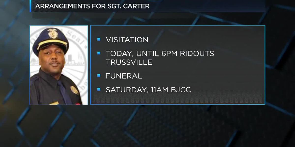Visitation for Sgt. Wytasha Carter in Trussville