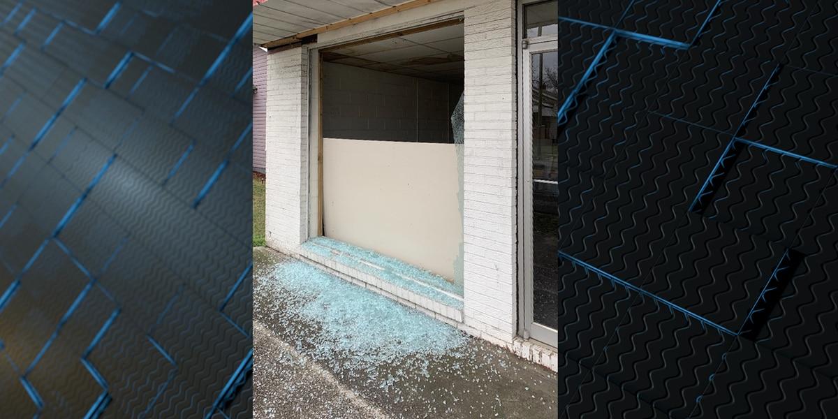 Windows being shot out all over Gadsden