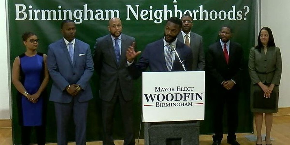 Mayor-Elect Woodfin introduces executive team