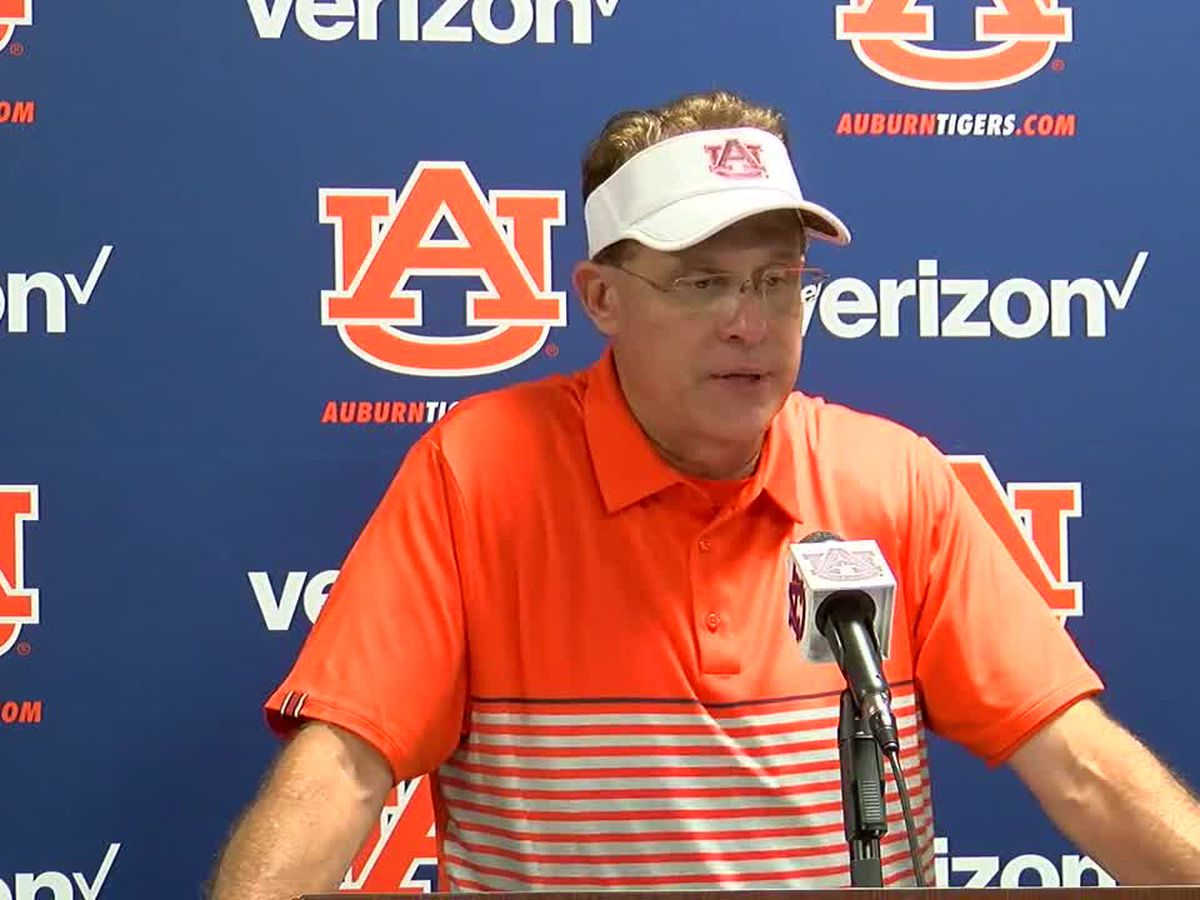 Auburn press conference after win over Kent State