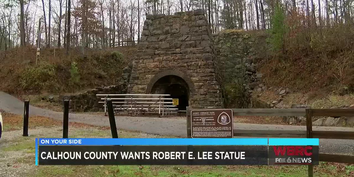Calhoun Co. commissioner wants Robert E. Lee statue