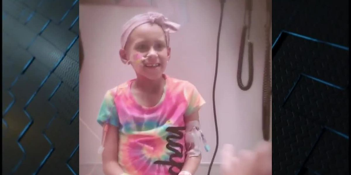 9-year-old cheerleader Destiny Riekeberg, now using her strength to beat cancer