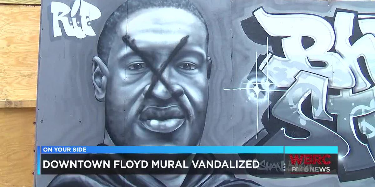 Owner drops all charges after police apprehend suspect for vandalizing downtown George Floyd mural