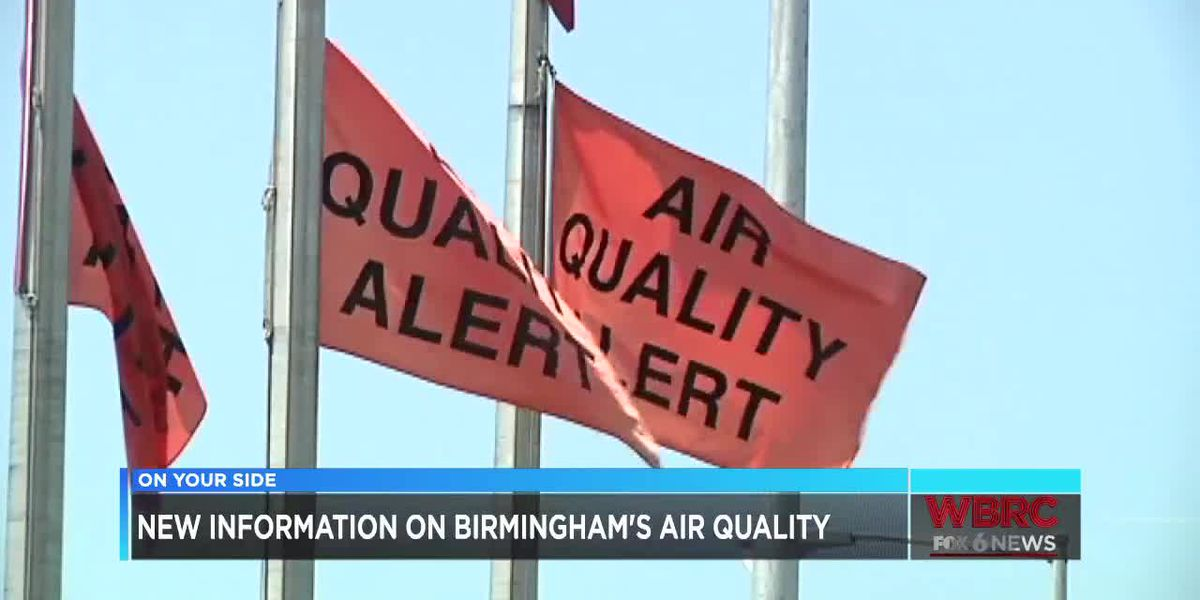 New information on Birmingham's air quality
