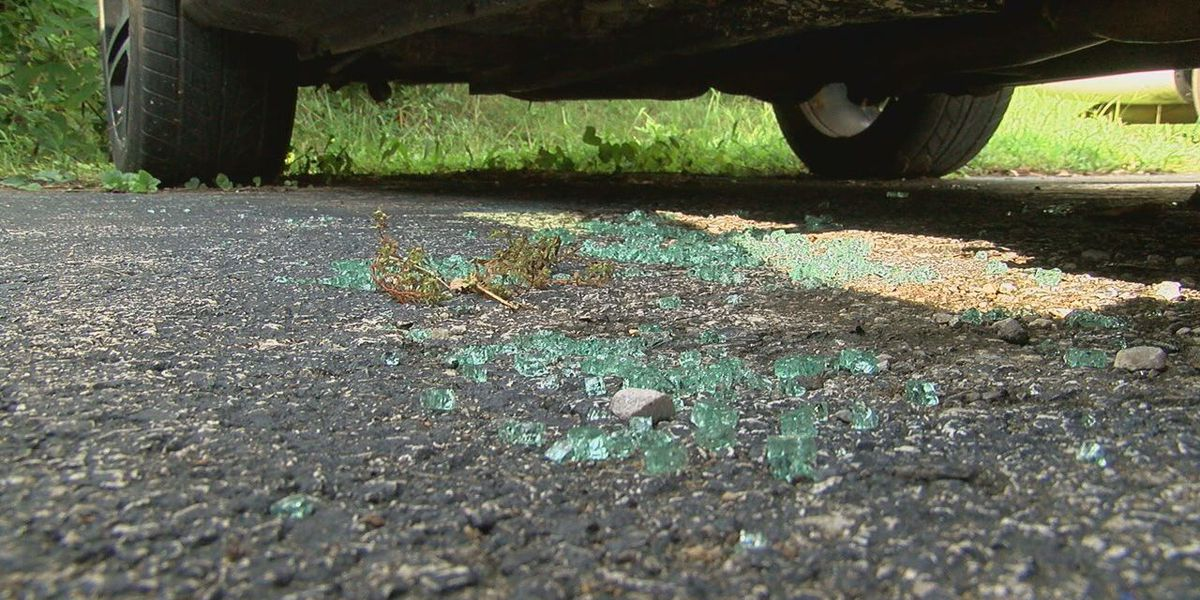 Glass shattered, cars broken into at Center Point apartment complex