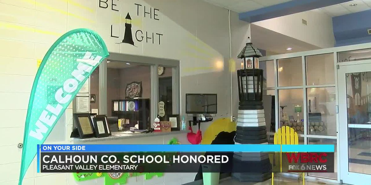 Pleasant Valley Elementary School receives honor and check