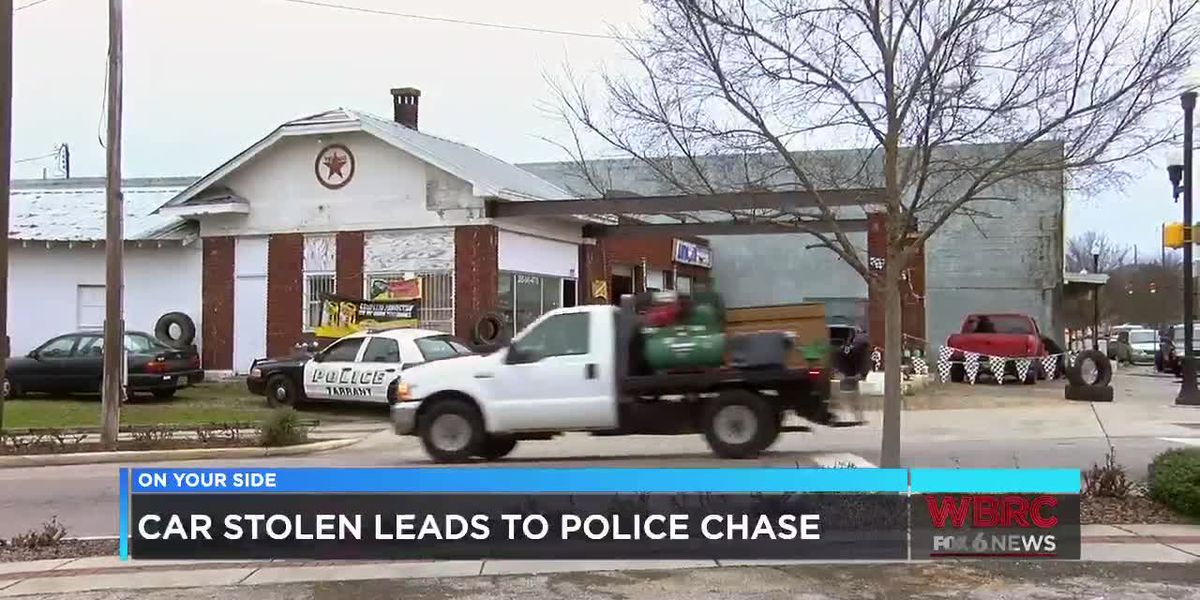 Car stolen leads to police chase