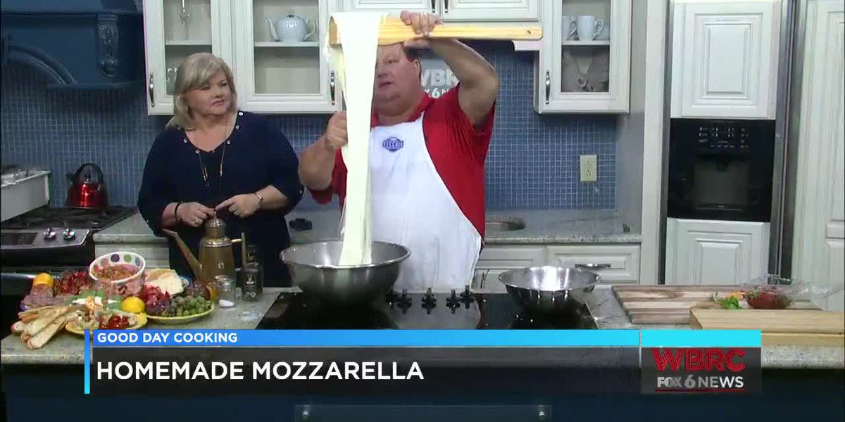 Bernard Tamburello: Homemade Mozzarella