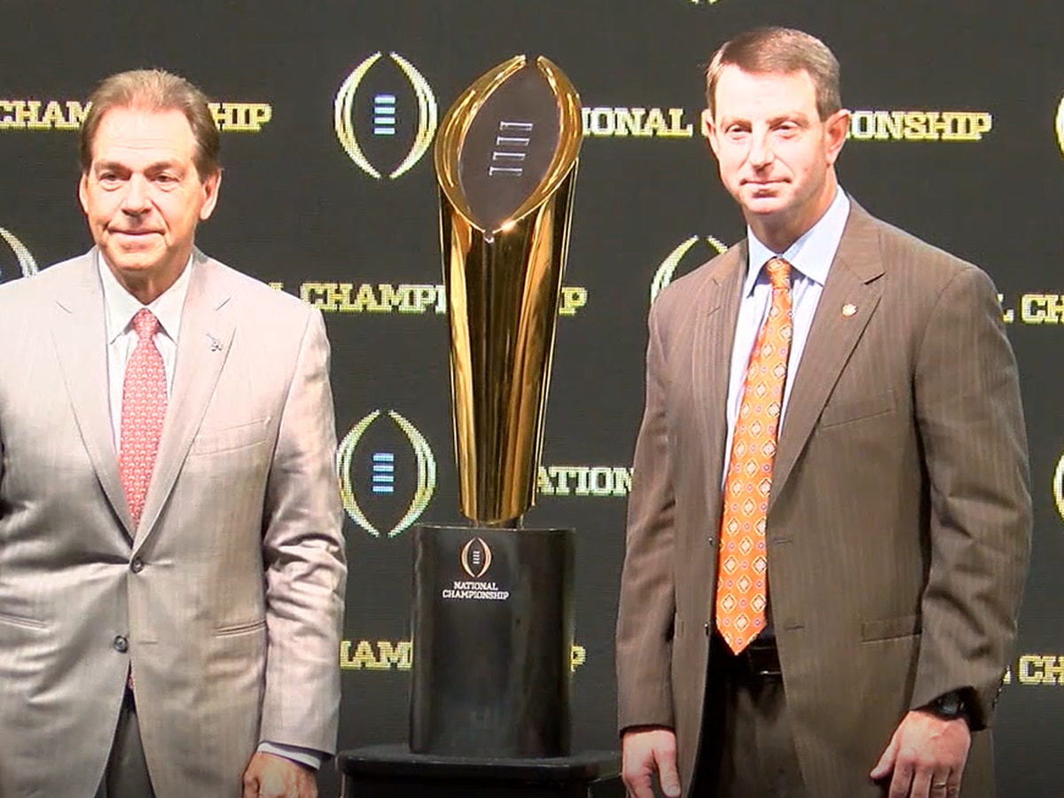 'I hate to hear that': Coach Dabo Swinney wishes Coach Nick Saban well