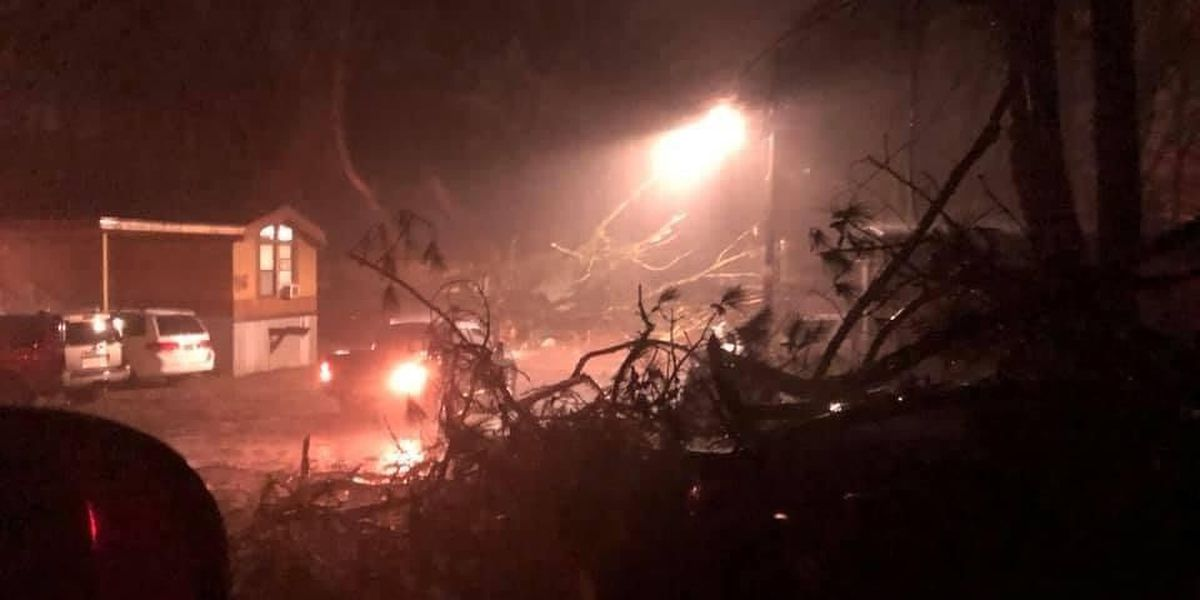 PHOTOS: Northern Jefferson Co. hit hard by overnight severe storms