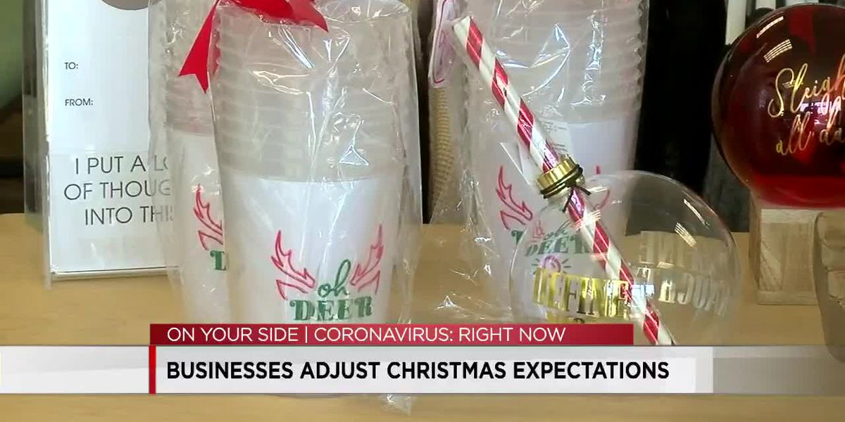 Small businesses adjust Christmas expectations