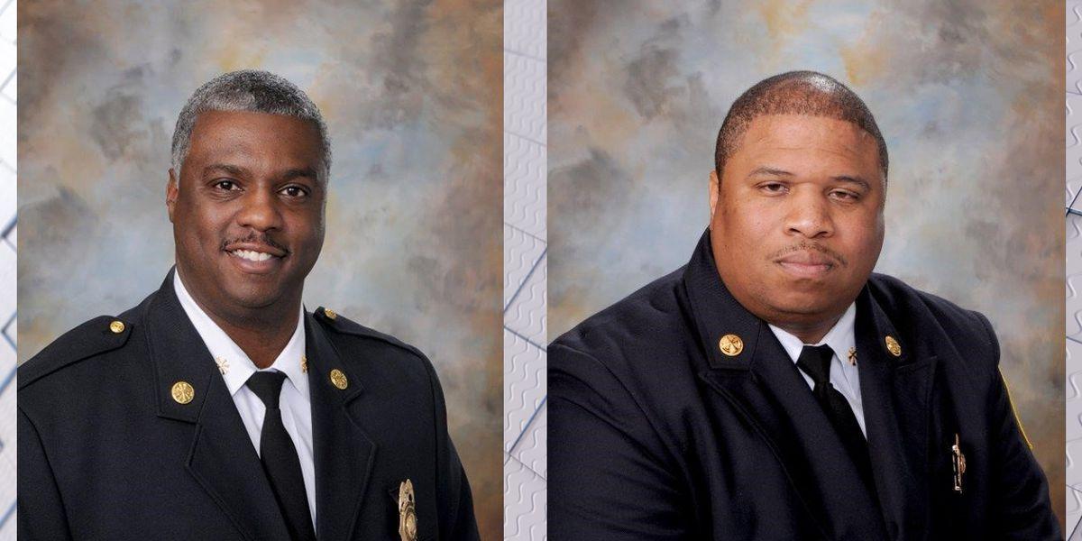 Mayor names new Birmingham fire chief, deputy chief