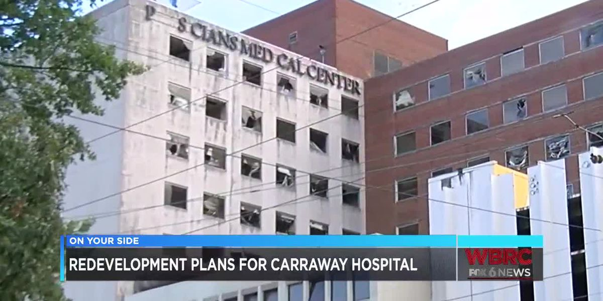Redevelopment plans for Carraway Hospital