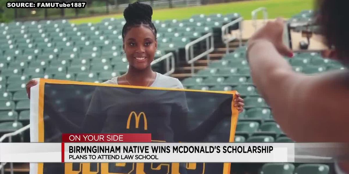 Birmingham native wins $15K McDonald's Black and Positively Golden Scholarship