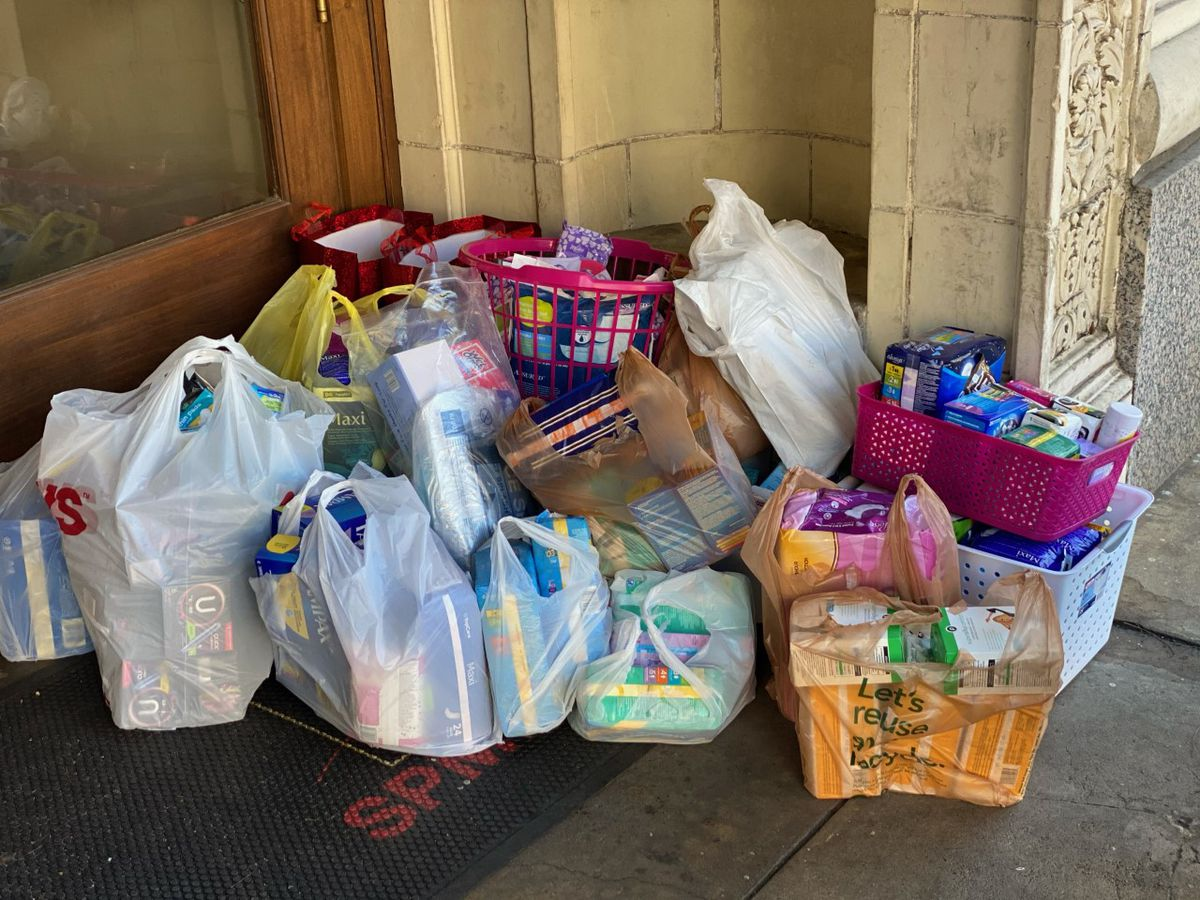 Donation drive for women at First Light Women's Shelter