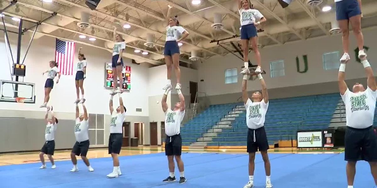 Lucky 13 for Shelton State cheer squad