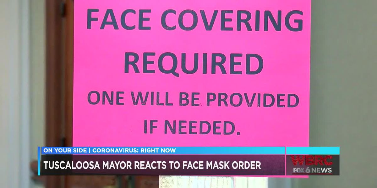 Tuscaloosa face covering ordinance nearly two weeks old