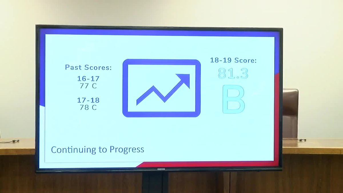 The numbers are in and area schools get better grades