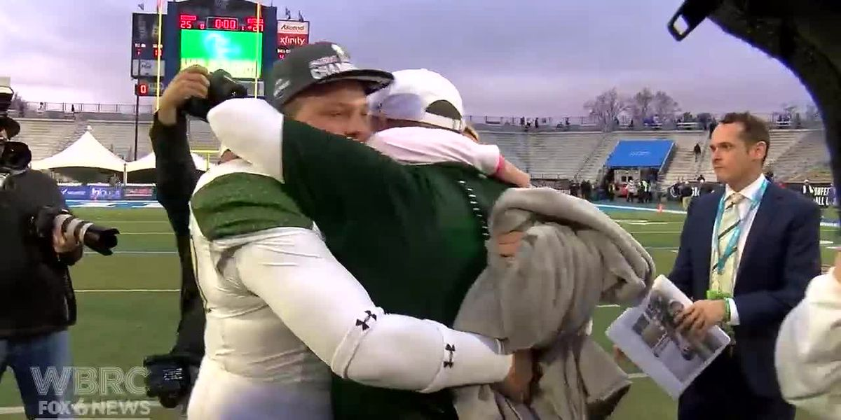 WATCH: UAB celebrates Conference USA Championship