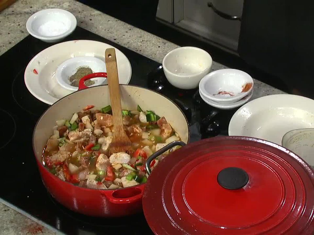 Homewood Gourmet: Chicken and Sausage Jambalaya