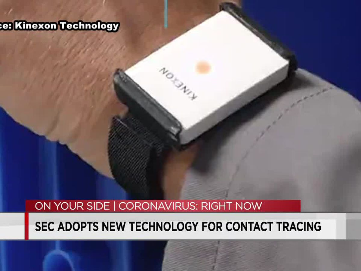SEC to use new COVID-19 contact tracing technology for players