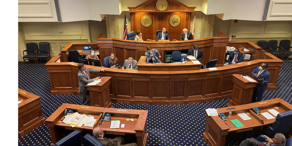 With masks and distancing, lawmakers return to changed legislative session
