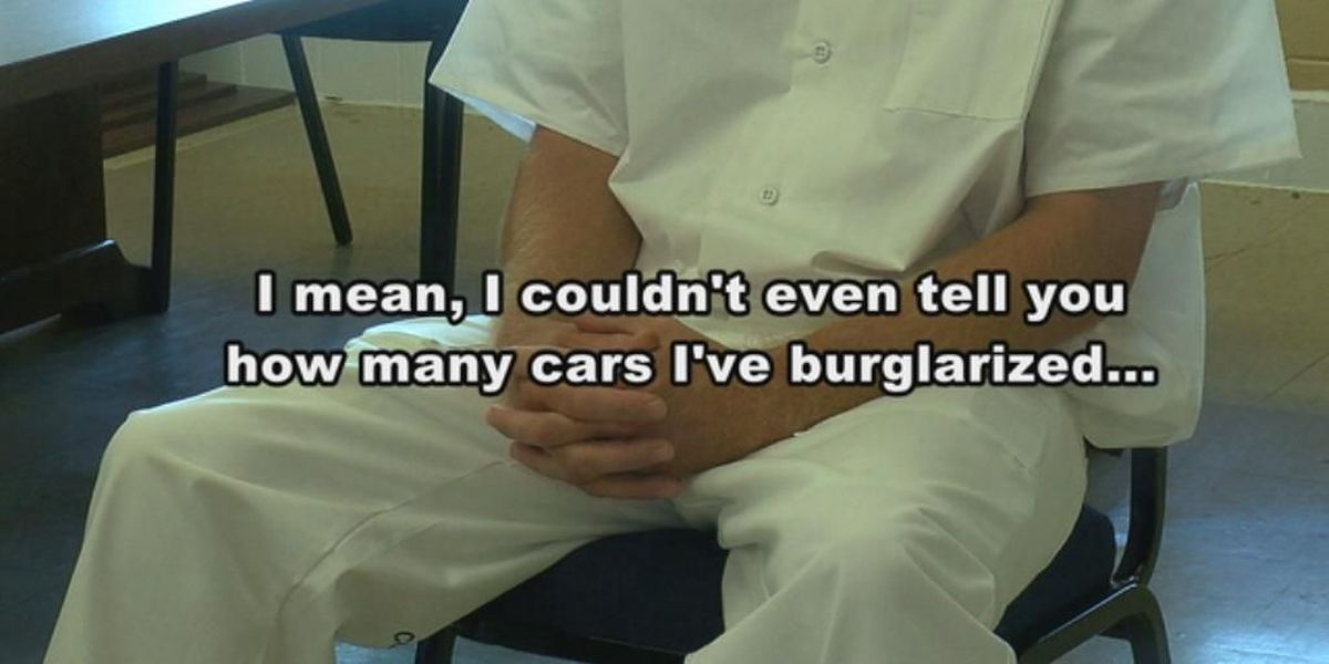 Inmate tells all on breaking into cars, homes