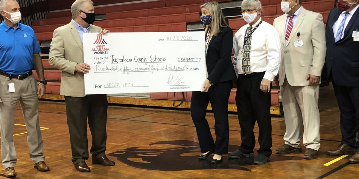 Brookwood Career Tech program gets largest donation in its history