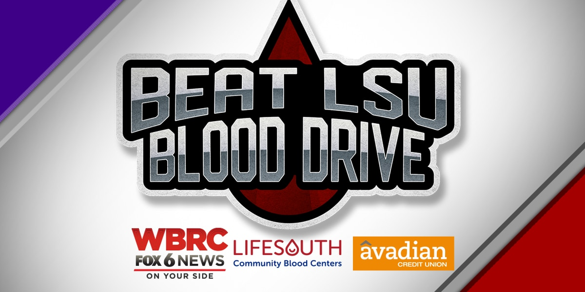 Beat LSU Blood Drive