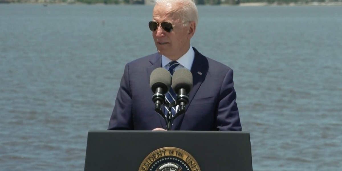President Biden promotes jobs plan in Louisiana