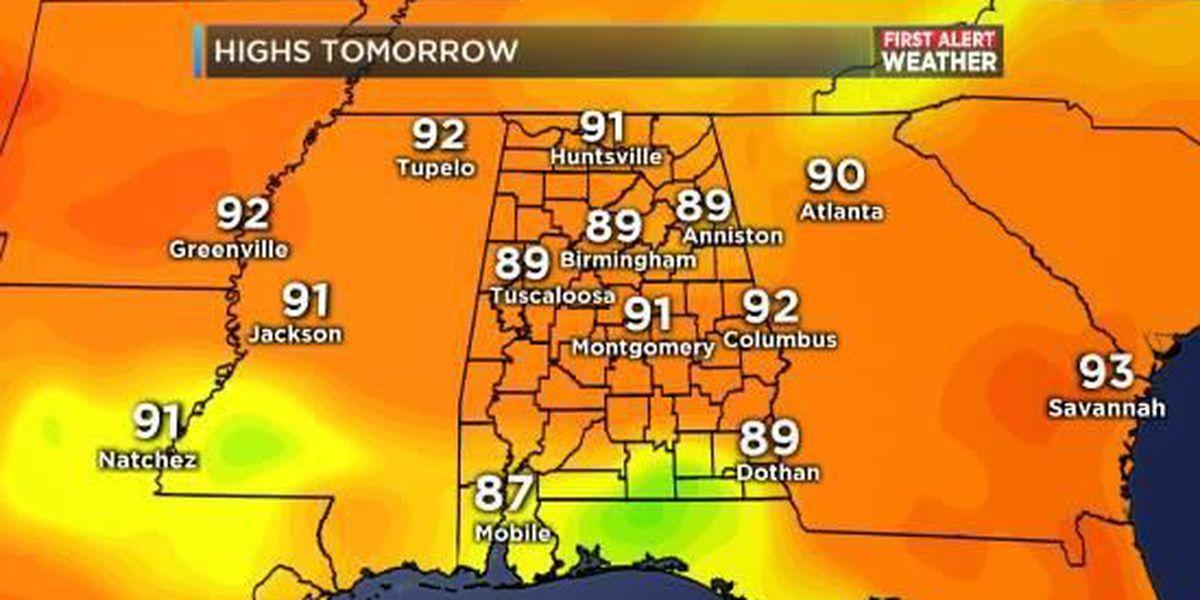FIRST ALERT: Code Orange air quality alert on Wednesday