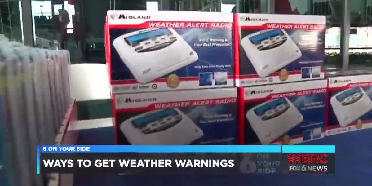 Ways to get weather warnings