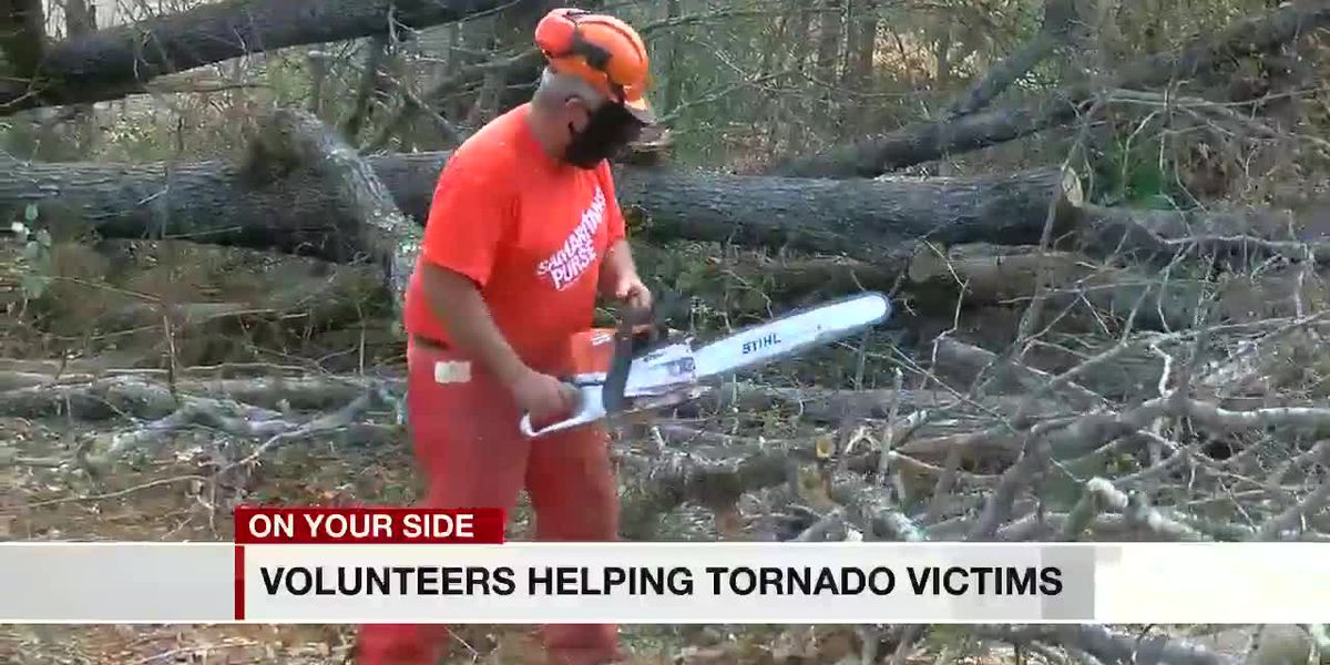 Crews working to clean up Tuscaloosa County after multiple tornados
