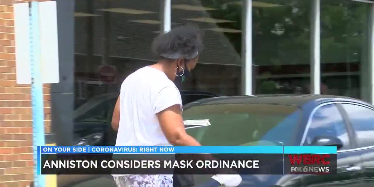 Anniston joins cities considering a mandatory mask ordinance