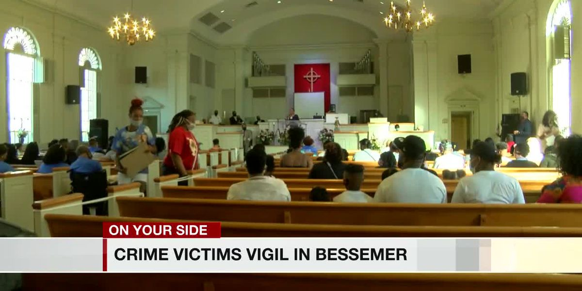 City of Bessemer holds yearly candlelight vigil honoring lives of those lost to violence, domestic assaults