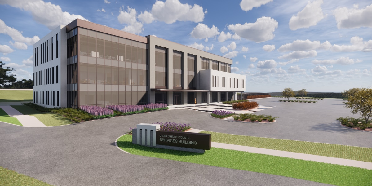 A new look at the Shelby County Services Building plans