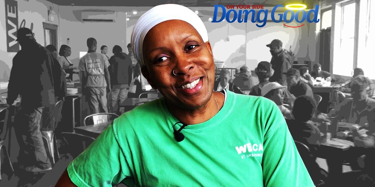 "Ama Shambulia, ""Doing Good"" at the WE Cafe"