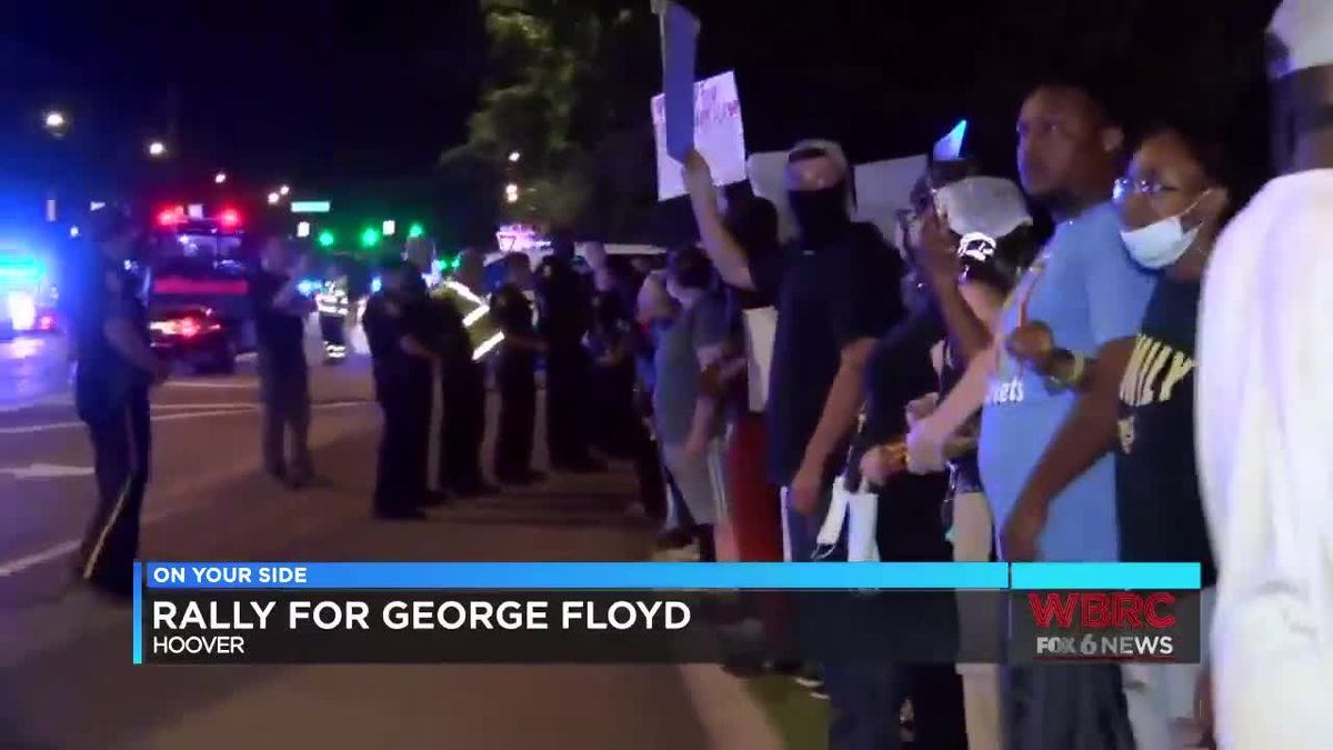 Protests in B'ham and Hoover on Saturday