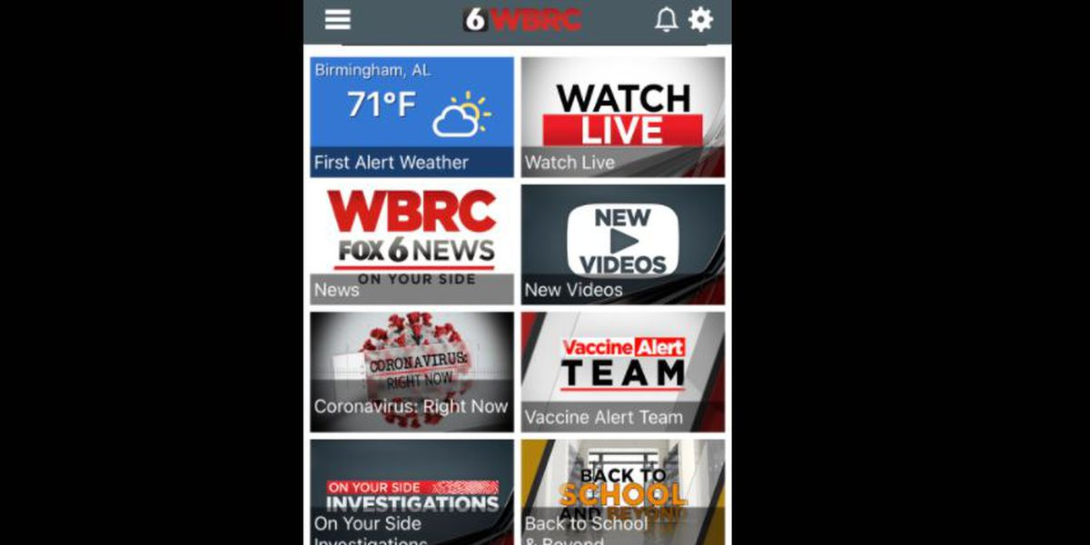 Here's how to get the all-new WBRC TV News app