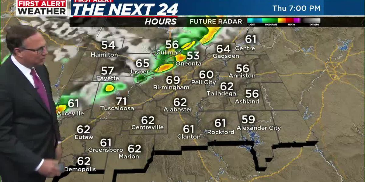First Alert Weather: 5 p.m. update 5-6-21