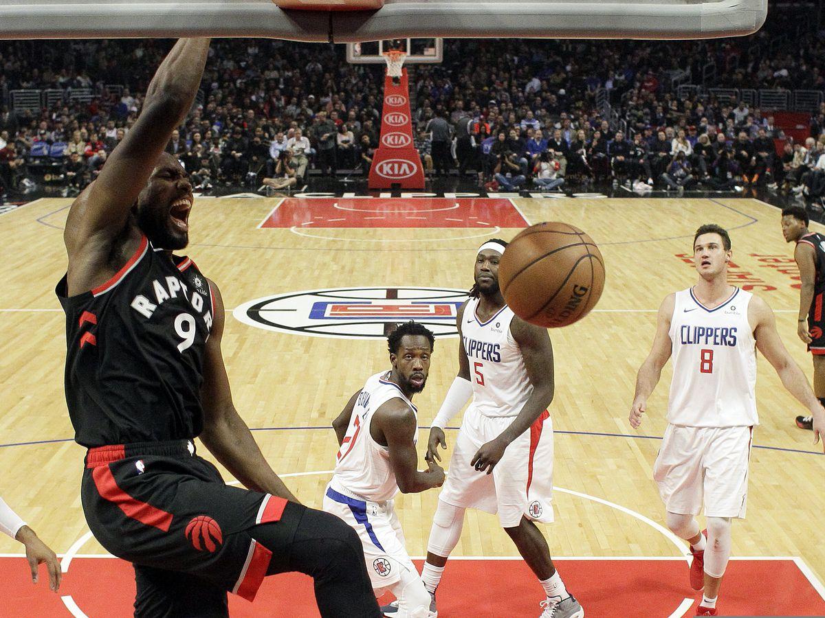 NBA-best Raptors hand Clippers worst loss of season, 123-99