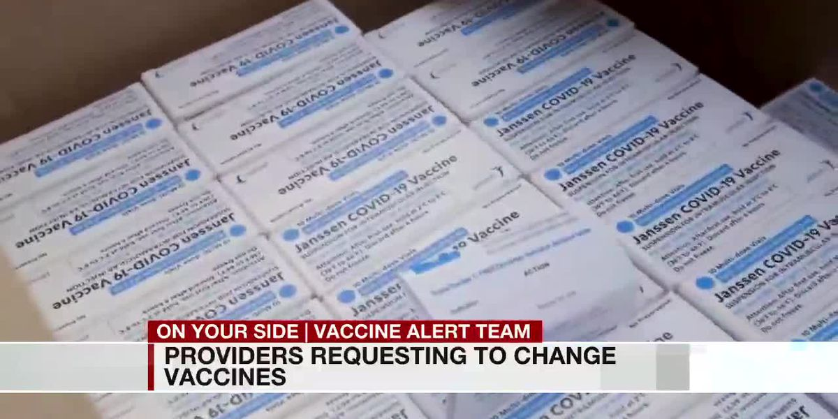 "State: ""Several providers have asked to switch the type of COVID-19 vaccine they offer"""