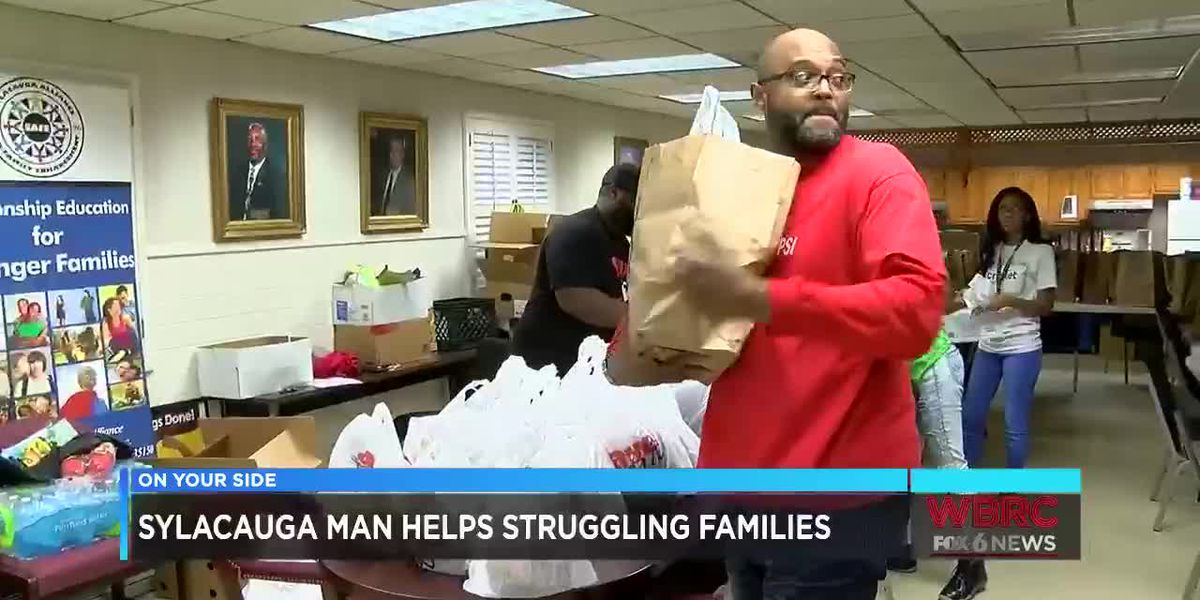 Sylacauga man helps struggling families