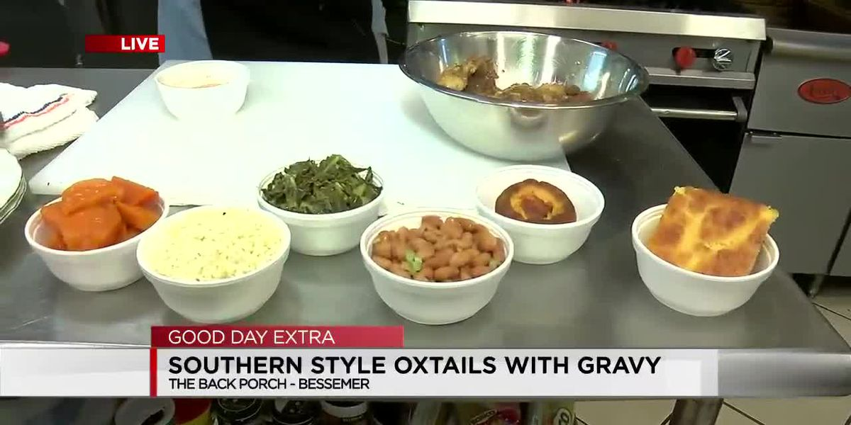 The Back Porch: Southern-Style Oxtails with Gravy