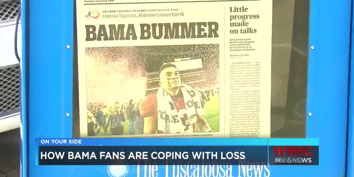 How Bama fans are coping with loss